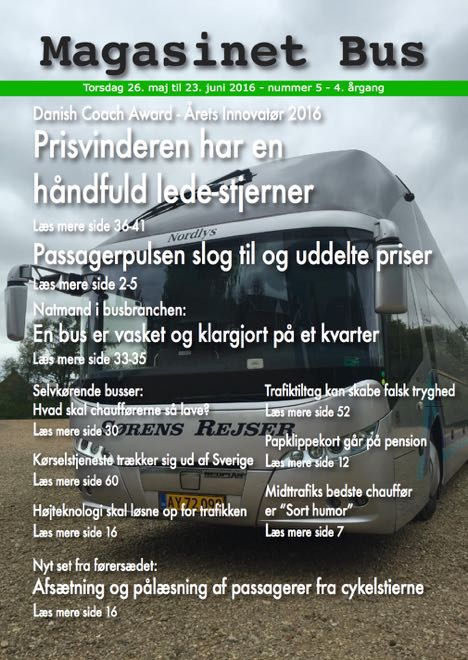 Magasinet Bus 5 - 2016